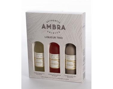 Ambra Liqueur Trio Pack