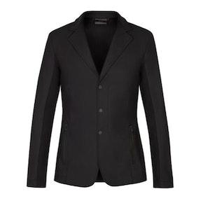Cavalleria Toscana Men's Tech Knit Zip Riding Jacket