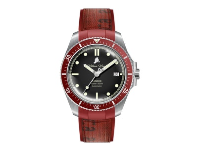 William Wood Watches - Valiant Collection - The Red Watch - Swiss Movement