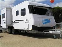 JTECH suspension headlines Jayco's new flagship Silverline caravan design