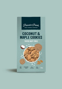 Friends of Frank Maple & Coconut Cookies - 160g