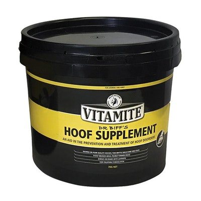 Vitamite Dr Biff's Hoof Supplement Injured Low Quality Horse Hoof - 2 Sizes