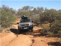 GoSee Holden Rodeo works through Canning track ruts