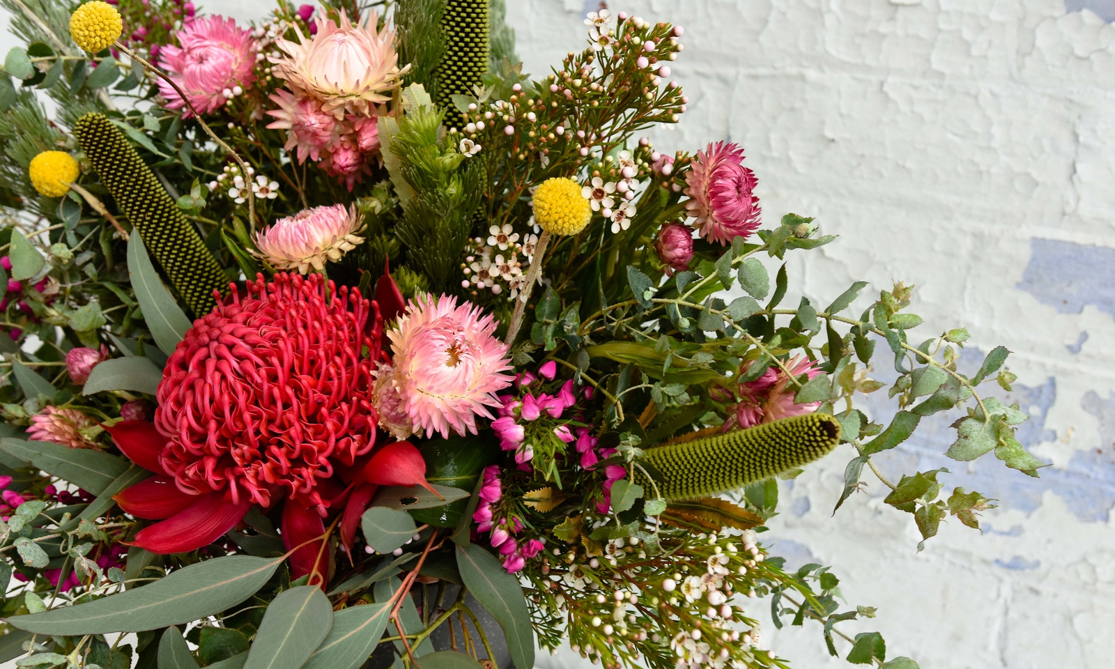 Decorating with australian wildflowers wildflower bouquet how to decorate with australian wildflowers izmirmasajfo