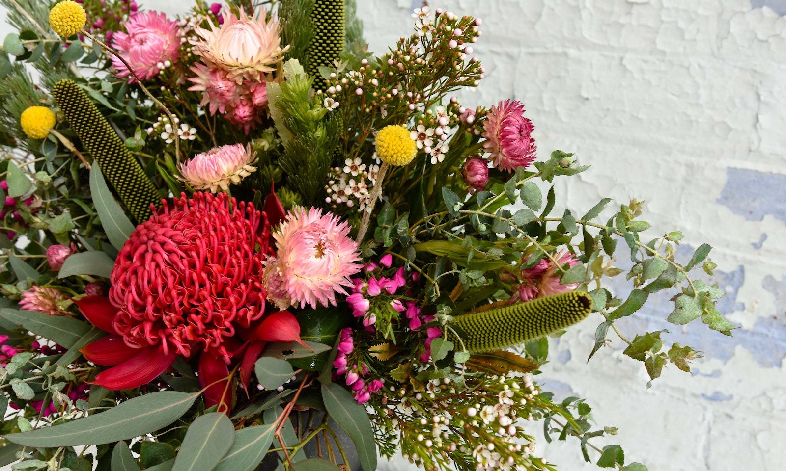 Decorating With Australian Wildflowers Wildflower Bouquet