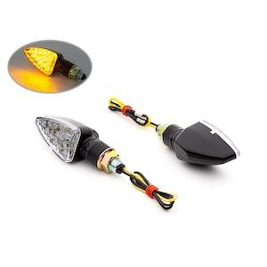 Mini Spear Head LED Indicators - Black