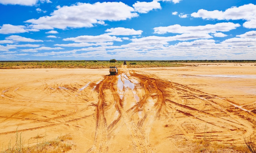 That Sinking Feeling: getting stuck in the Simpson Desert