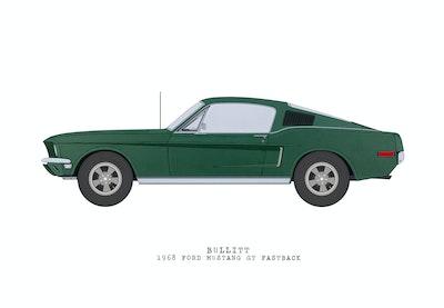 'Bullit' 1968 Ford Mustang GT Fastback