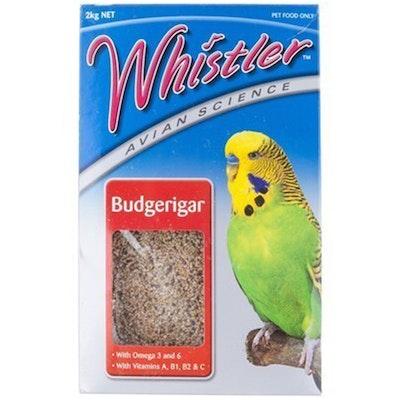 Lovitts Whistler Avian Science Budgerigar Bird Food Mix 2kg