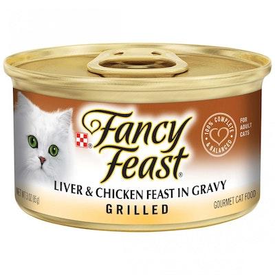 Fancy Feast Grilled Liver & Chicken Feast In Gravy Wet Cat Food