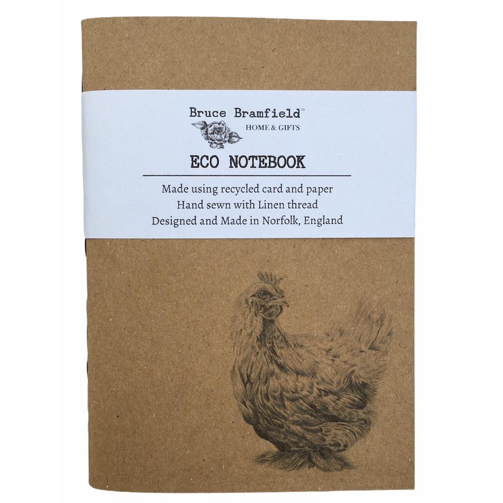 Bruce Bramfield Chicken Eco Notebook
