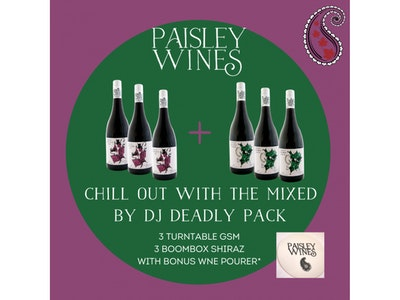 Mixed by DJ Deadly 6 Pack with Bonus Offer