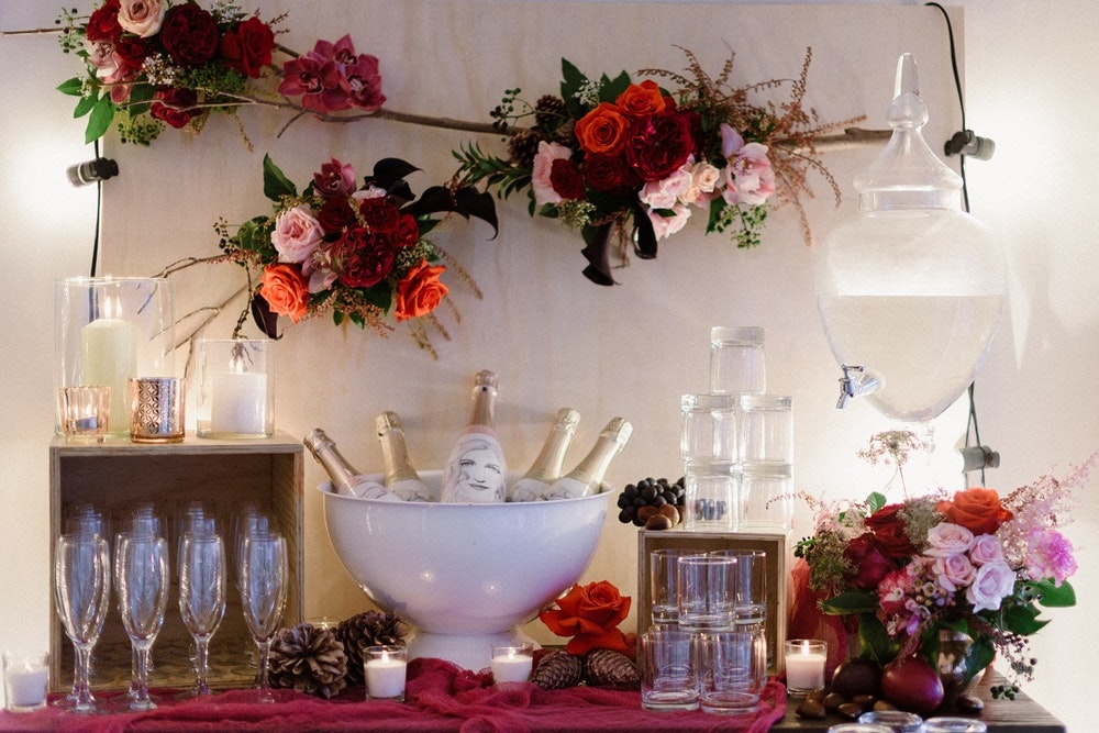 LENZO Joy and Co Events Romantic Woodland Party