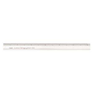 Aluminuim Straight Edge Single Sided Metric - 1500mm