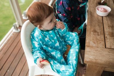 Calmbee Creations Long Sleeved No Gap Smock -  Large