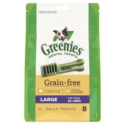 Greenies Grain Free TreatPak Large (340g)