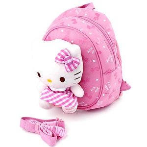 Hello Kitty Ribbon Safety Harness Backpack