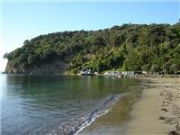 Waiwera - a perfectly secluded and beautiful beach