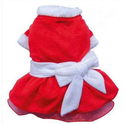 DoggyDolly SMALL DOG CHRISTMAS- Mrs Claus Doggy Dress