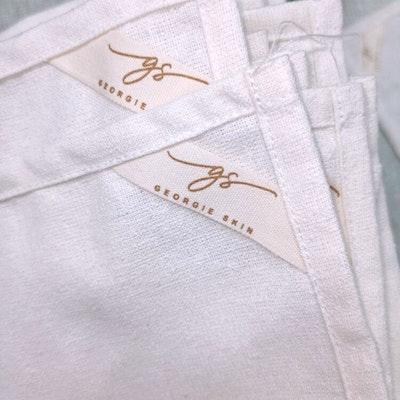 Georgie Skin 100% Raw Silk Cloth