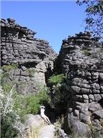 The rocks look like ancient castles, Grampians