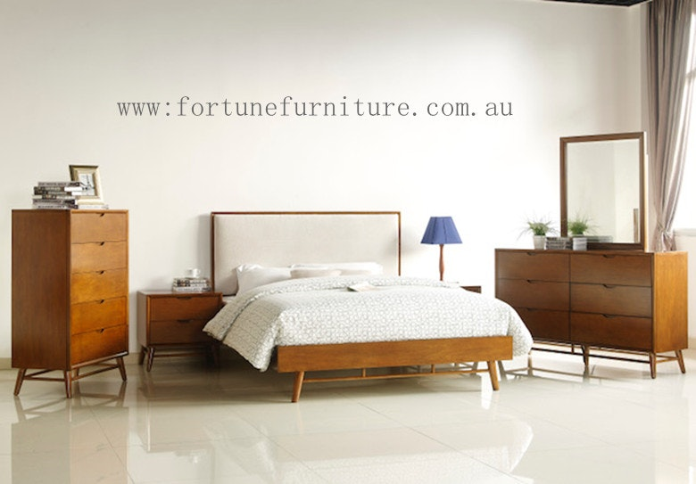 Fortune Furniture Mission 4 Pce Queen Size Bedroom Suite With Tallboy Bedroom Suites For Sale