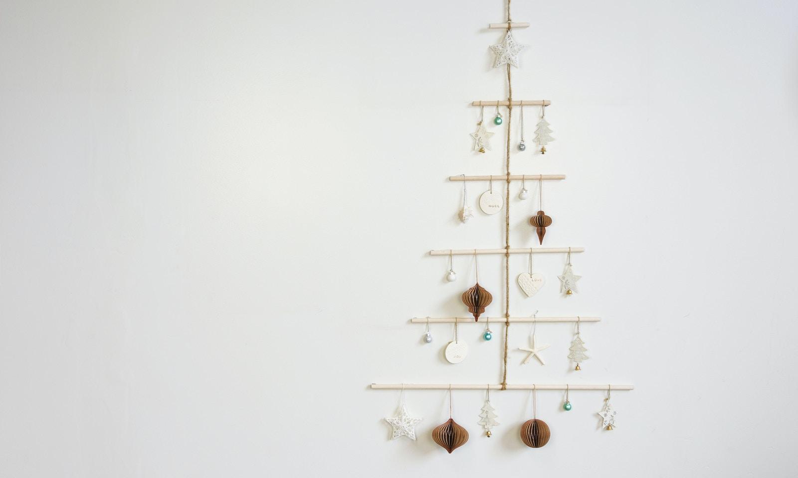D.I.Y Coastal Boho Christmas Tree