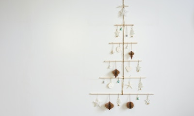 D.I.Y Coastal Boho Christmas Tree