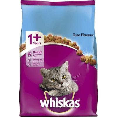 Whiskas Vitabites Ocean Fish Tuna Flavour Dry Cat Food 6.5kg