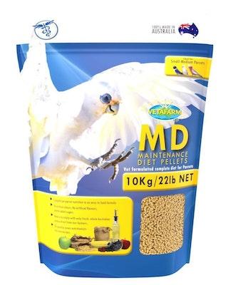Vetafarm Parrot Maintance Pellets 10kg