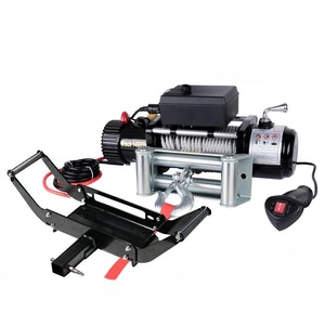 Wireless 14500LBS 12V Electric Winch +  Mount Plate