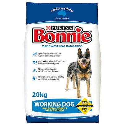 Purina Bonnie 20kg Working Dog Active Dog Food Protein 20kg