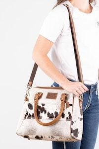 Hitchley & Harrow Patchwork Hide-On Handbag - PBH711