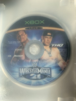 Wrestlemania 21 Original Xbox *MINT DISC* *Like New* (disc only + with blank case)