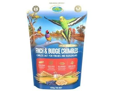 Vetafarm Finch Canary Budgie Crumble 450g
