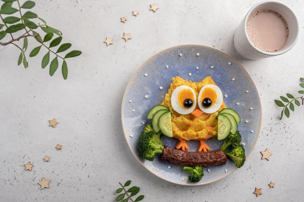 Leckeres und gesundes Essen für den Kindergeburtstag