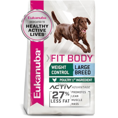 Eukanuba Fit Body Large Breed Adult Dry Dog Food 14kg