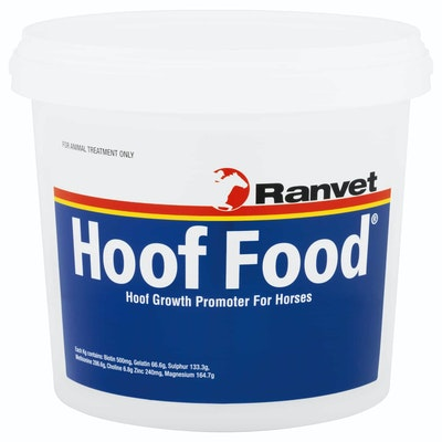 Ranvet Hoof Food Horses Growth Promoter Palatable Powder - 4 Sizes
