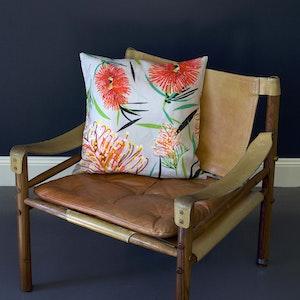 Grevillea Pure Linen Cushion Cover