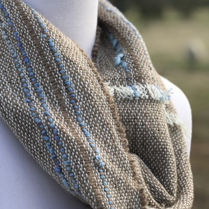 Cowl with Blue Detail