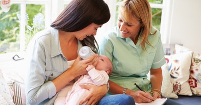 Five reasons to see a physiotherapist after giving birth
