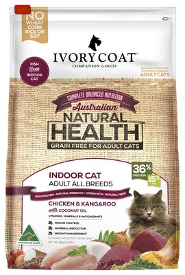 IVORY COAT Grain Free Cat Dry Food Chicken & Kangaroo 6kg