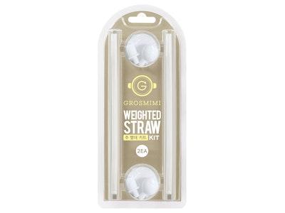 Grosmimi Weighted Straw Kit Twin Packs