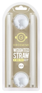 Grosmimi Weighted Straw Kit Twin Packs