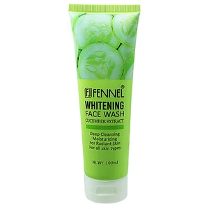Fennel Whitening Face Wash Cucumber Extract 100ml