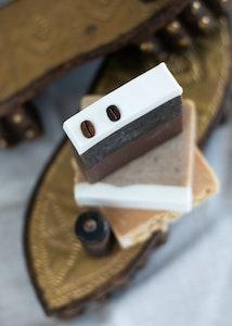 Handmade Natural Exfoliating Soap Bar - Cafe