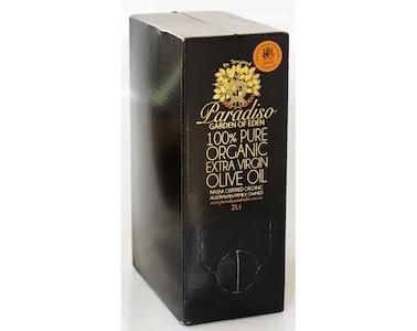 Paradiso Cert Org Extra Virgin Olive Oil 2Lt Cask