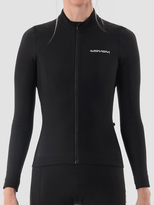Soomom Women's Pro Classic LS Thermal Jersey - Black