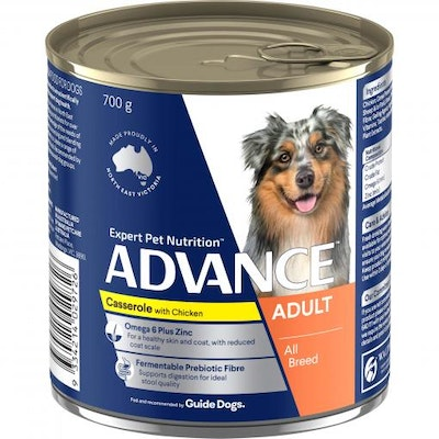 Advance Adult Casserole with Chicken Wet Dog Food