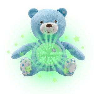 Chicco BABY BEAR SOFT TOY BLUE
